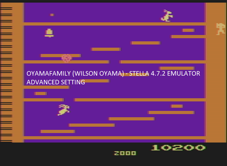 oyamafamily: Kangaroo [Advanced] (Atari 2600 Emulated) 10,200 points on 2016-11-14 17:43:27