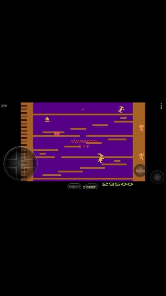 omargeddon: Kangaroo [Advanced] (Atari 2600 Emulated) 29,500 points on 2016-12-11 11:03:33