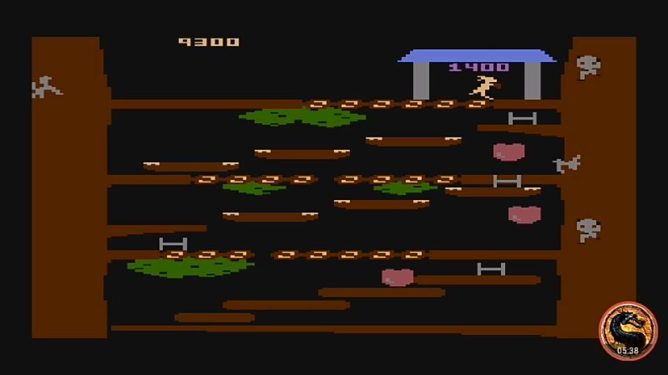 omargeddon: Kangaroo [Advanced] (Atari 400/800/XL/XE Emulated) 9,300 points on 2019-03-19 16:42:16