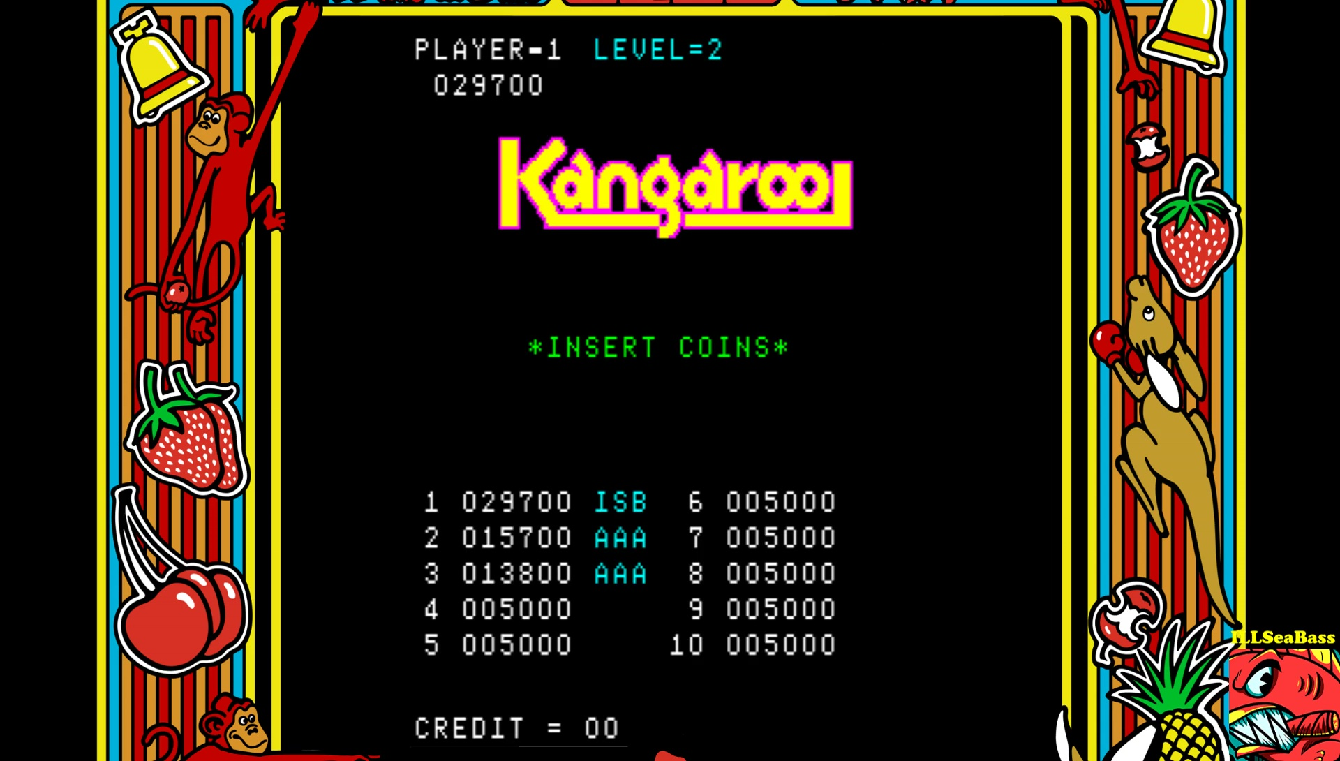 Kangaroo 29,700 points