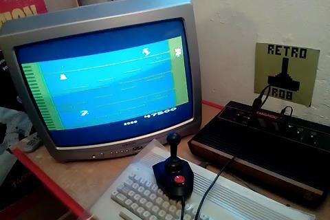 RetroRob: Kangaroo (Atari 2600) 47,500 points on 2020-10-07 05:38:59