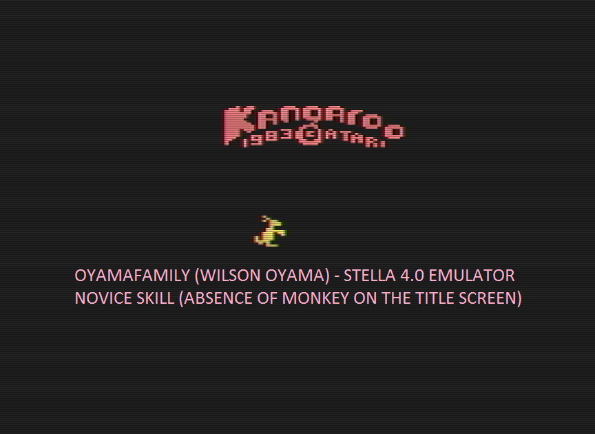 oyamafamily: Kangaroo (Atari 2600 Emulated) 30,000 points on 2016-04-26 20:19:36