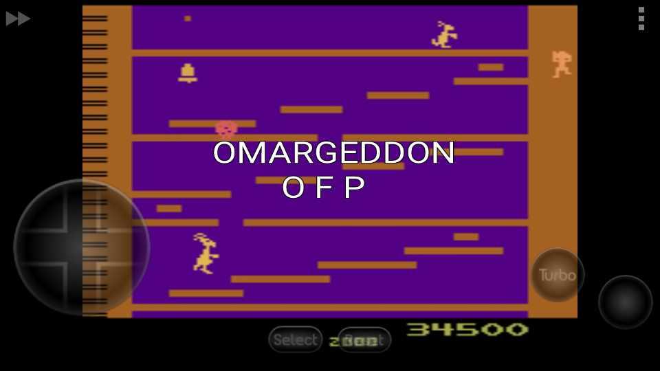 omargeddon: Kangaroo (Atari 2600 Emulated) 34,500 points on 2016-11-17 01:59:26