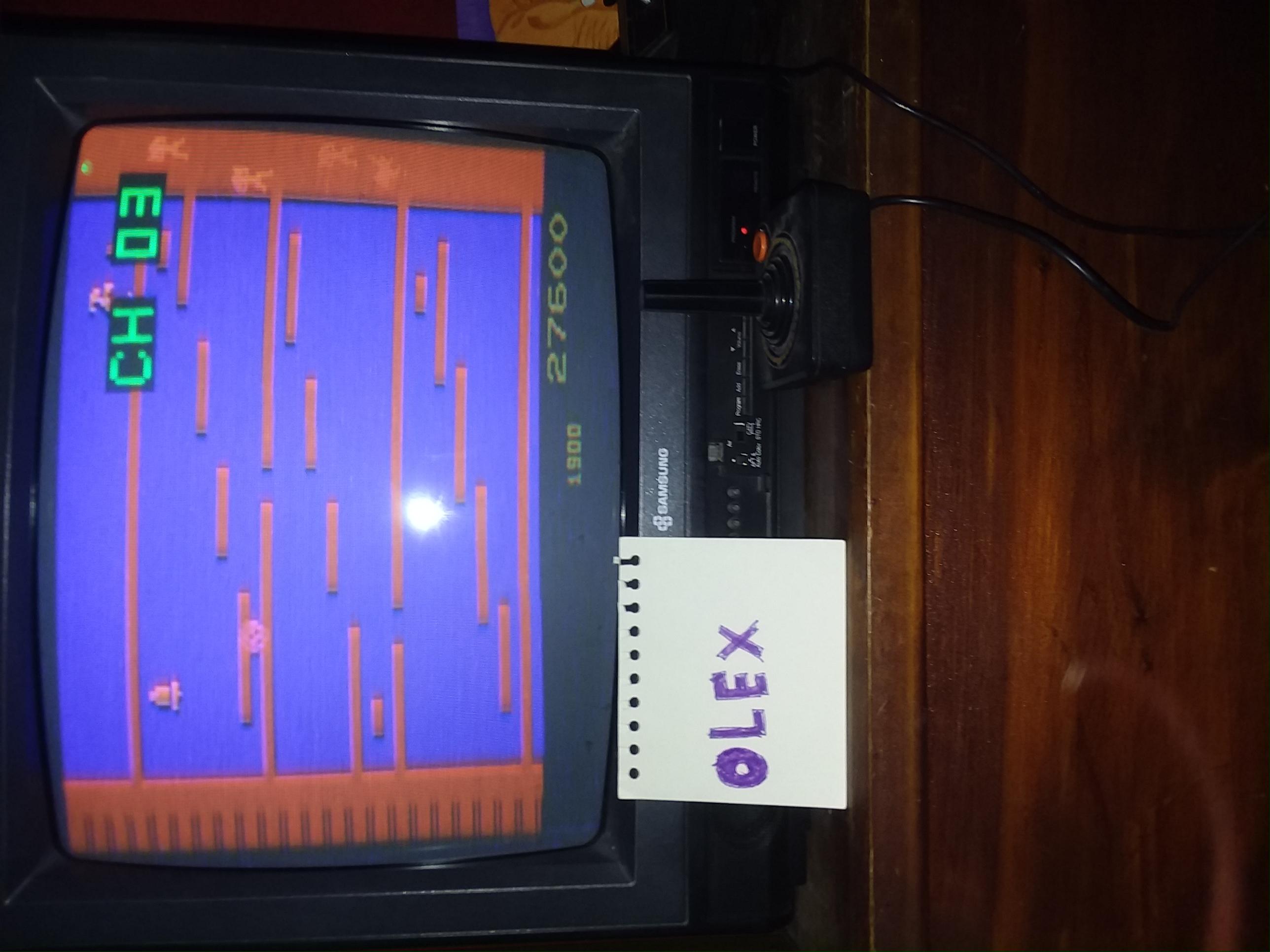 OlexBetter: Kangaroo (Atari 2600) 27,600 points on 2018-01-07 15:59:57