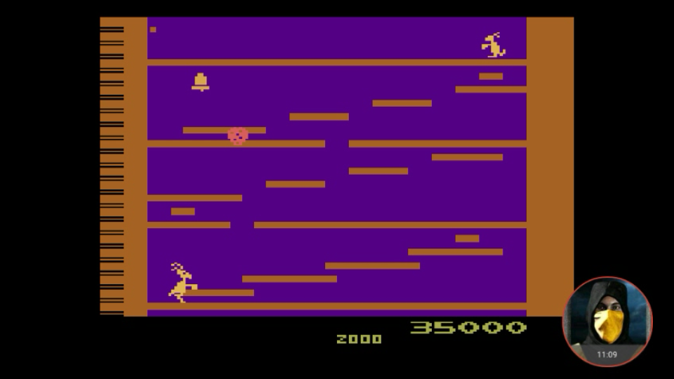 omargeddon: Kangaroo (Atari 2600 Emulated) 35,000 points on 2018-05-25 23:52:11