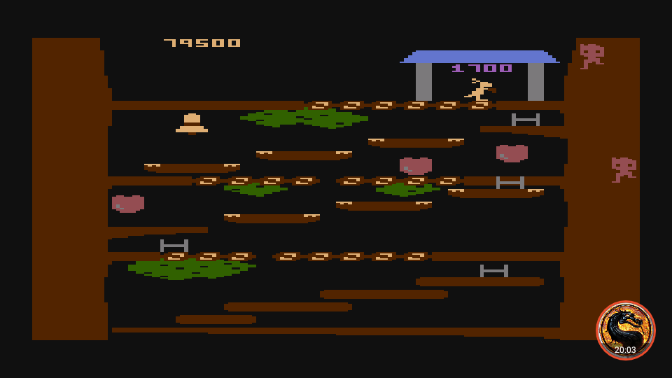 omargeddon: Kangaroo (Atari 400/800/XL/XE Emulated) 79,500 points on 2019-02-14 22:20:50