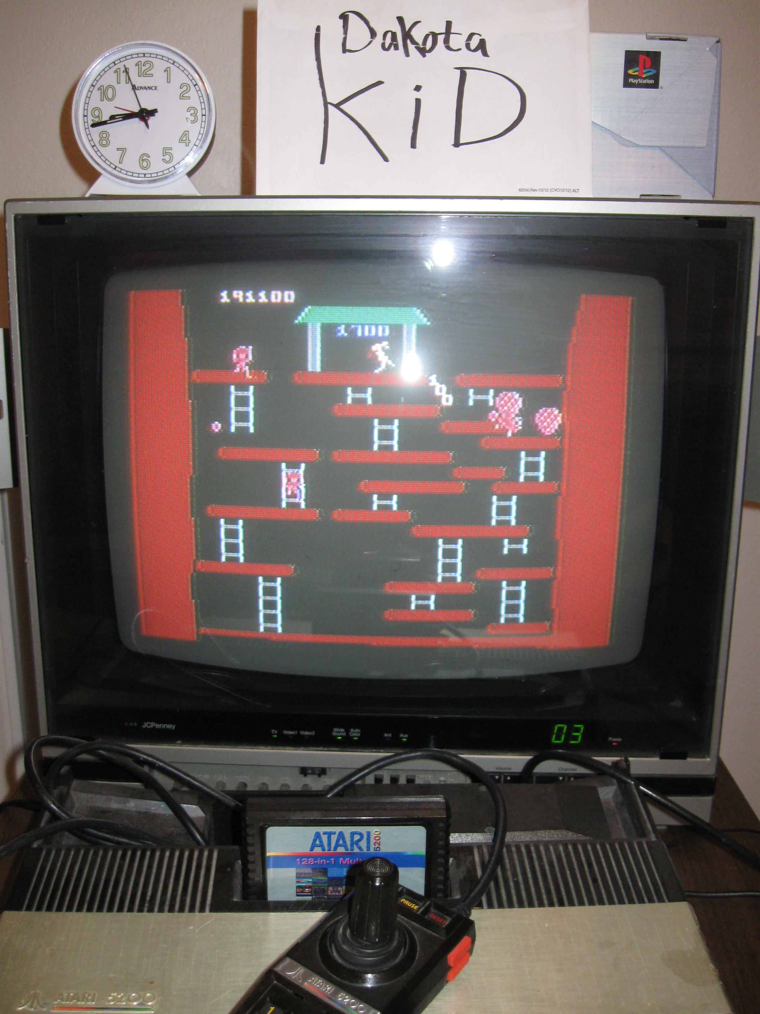 DakotaKid: Kangaroo: Novice (Atari 5200) 191,100 points on 2016-04-13 19:42:05