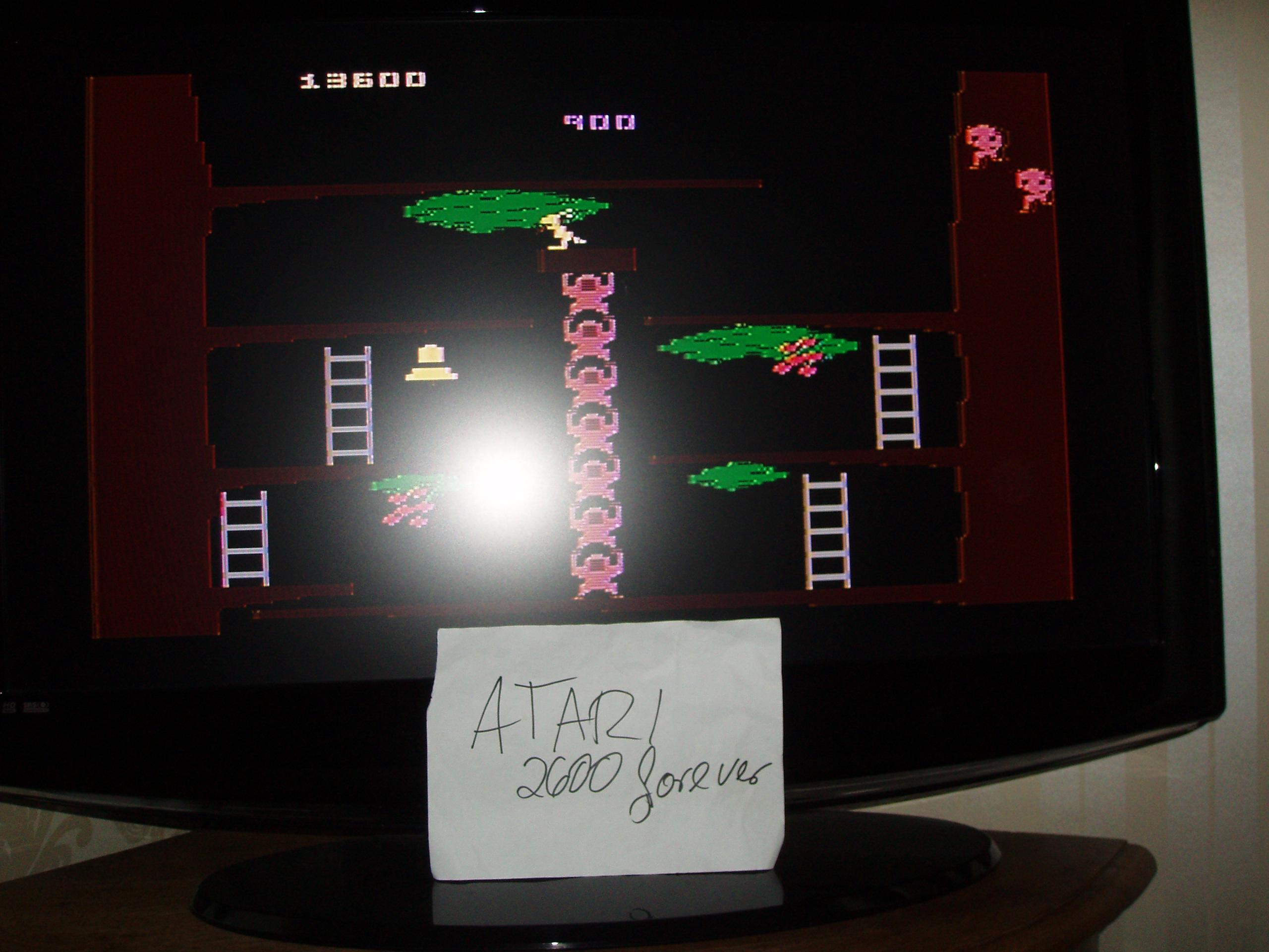 atari2600forever: Kangaroo: Novice (Atari 5200) 13,600 points on 2019-03-15 11:46:44