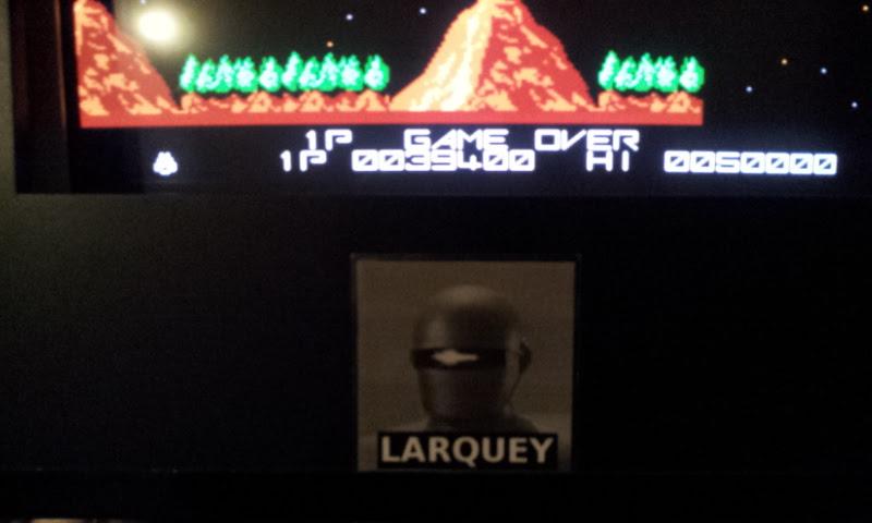 Larquey: Kazion Gradius (NES/Famicom Emulated) 39,400 points on 2018-04-01 14:17:28
