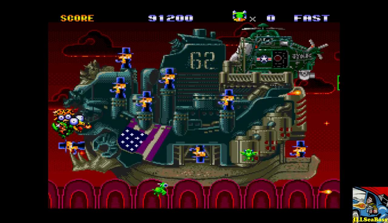 ILLSeaBass: Keio Flying Squadron [easy] (Sega Genesis / MegaDrive Emulated) 91,200 points on 2017-01-01 22:57:41