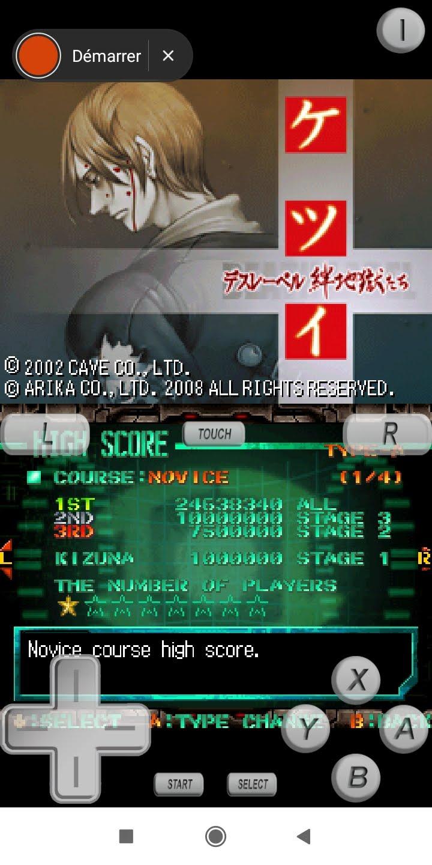 Larquey: Ketsui: Death Label [Novice] (Nintendo DS Emulated) 34,638,340 points on 2020-09-20 12:59:18