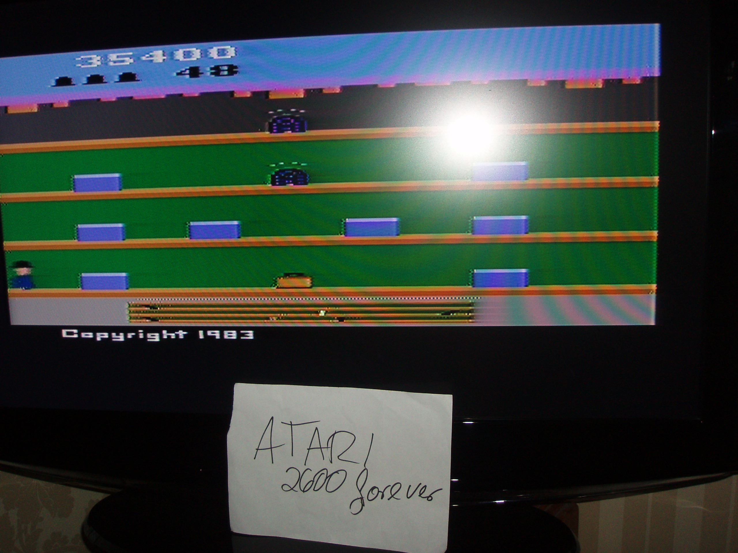 atari2600forever: Keystone Kapers (Atari 2600 Novice/B) 35,400 points on 2017-08-14 09:59:52
