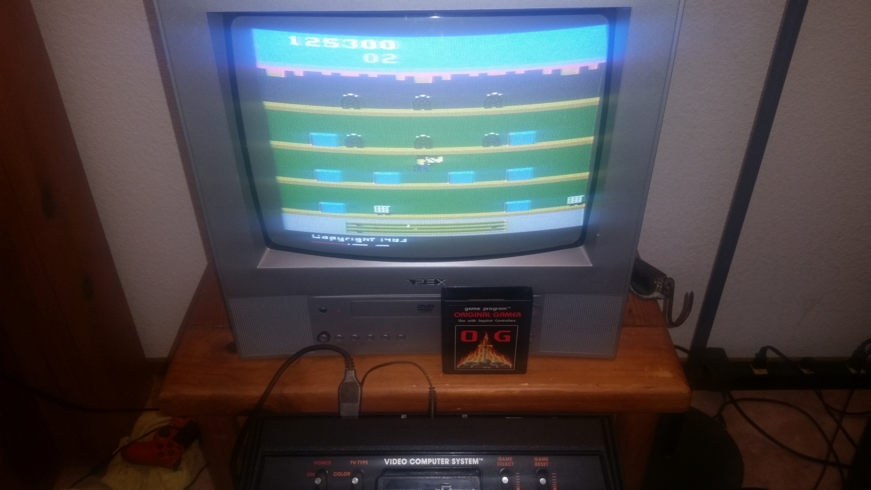 OriginalGamer: Keystone Kapers (Atari 2600 Novice/B) 125,300 points on 2018-01-07 03:40:54