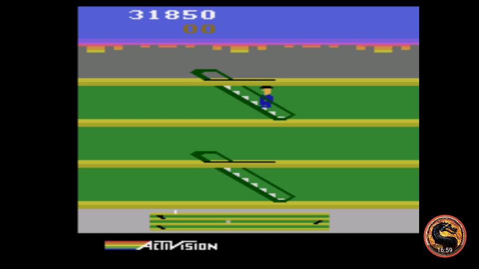 omargeddon: Keystone Kapers (Atari 2600 Emulated Novice/B Mode) 31,850 points on 2019-03-07 19:54:45