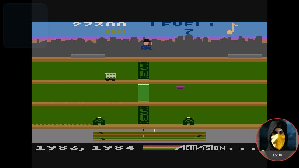 omargeddon: Keystone Kapers (Atari 400/800/XL/XE Emulated) 27,300 points on 2018-02-25 21:59:19