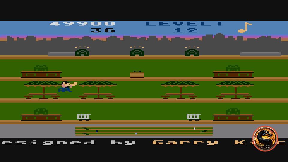 omargeddon: Keystone Kapers (Atari 400/800/XL/XE Emulated) 49,900 points on 2019-03-04 16:25:30