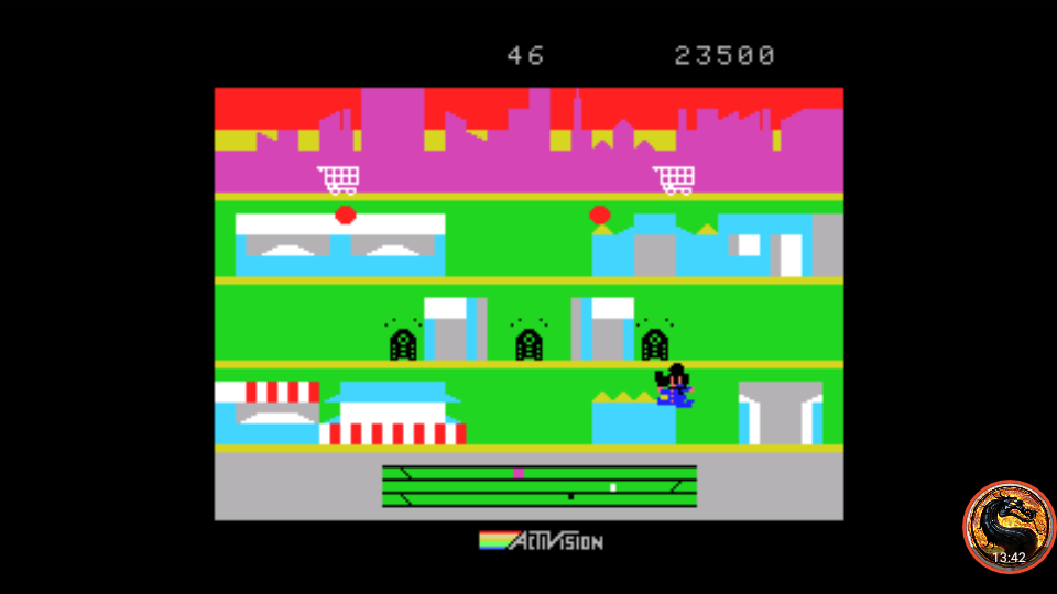 omargeddon: Keystone Kapers (MSX Emulated) 23,500 points on 2019-03-07 21:00:22