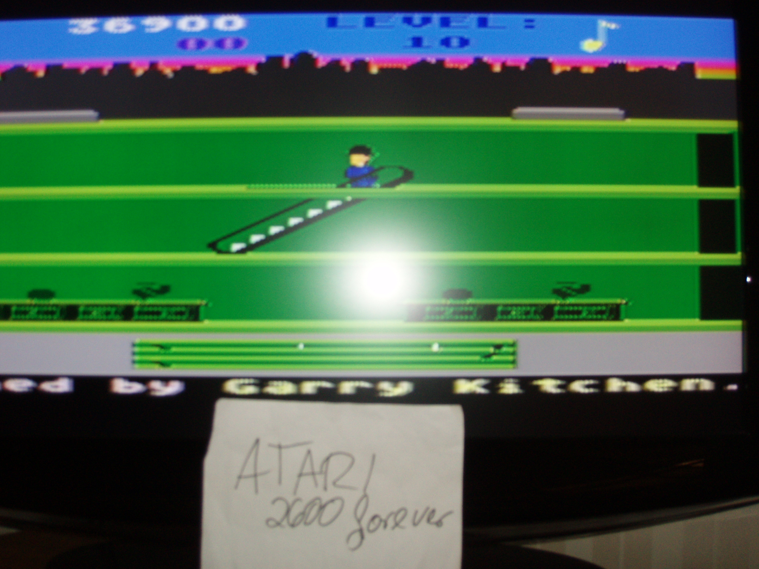 atari2600forever: Keystone Kapers: Skill 1 (Atari 5200) 36,900 points on 2018-05-15 05:16:58