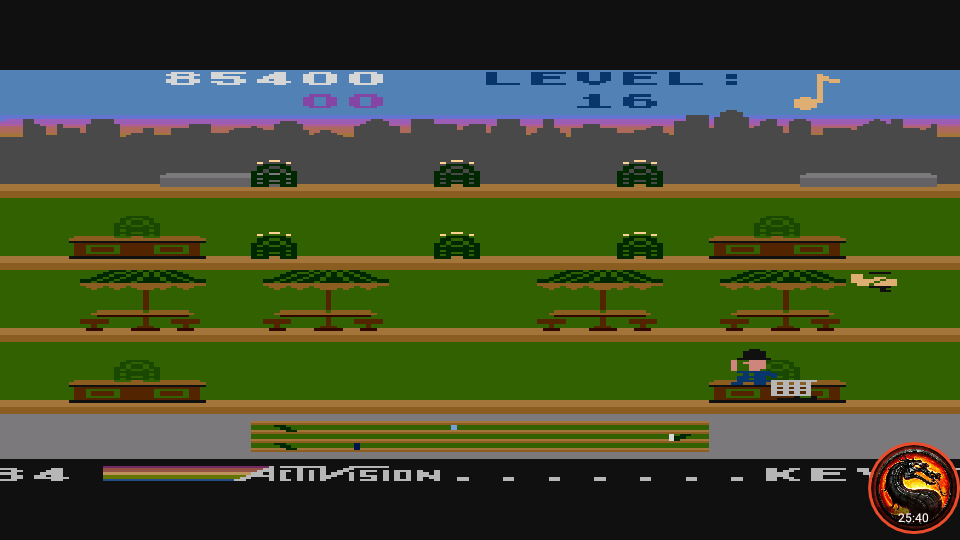 omargeddon: Keystone Kapers: Skill 1 (Atari 5200 Emulated) 85,400 points on 2020-03-10 17:26:13