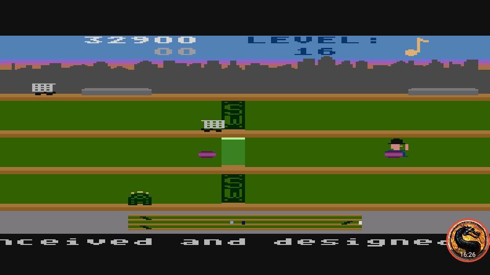omargeddon: Keystone Kapers: Skill 10 (Atari 400/800/XL/XE Emulated) 32,900 points on 2019-04-01 15:18:05