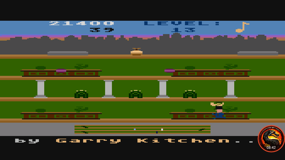 omargeddon: Keystone Kapers: Skill 10 (Atari 5200 Emulated) 21,400 points on 2020-04-02 10:11:24