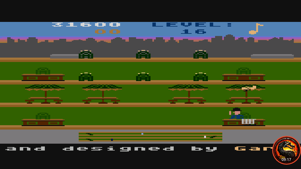 omargeddon: Keystone Kapers: Skill 11 (Atari 5200 Emulated) 31,600 points on 2020-03-17 13:12:16