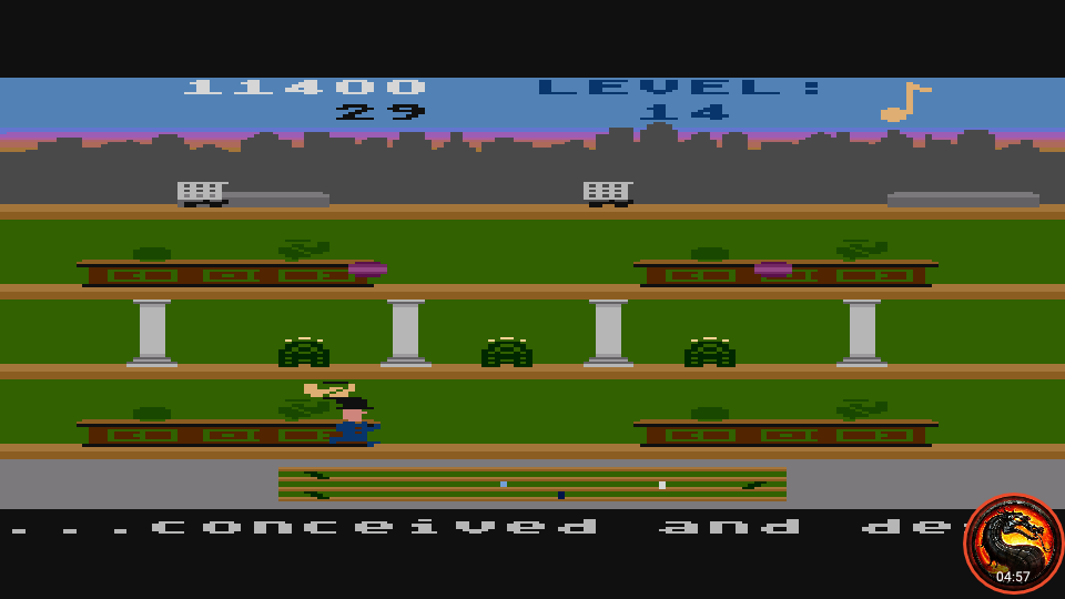 omargeddon: Keystone Kapers: Skill 12 (Atari 5200 Emulated) 11,400 points on 2020-04-02 10:29:32