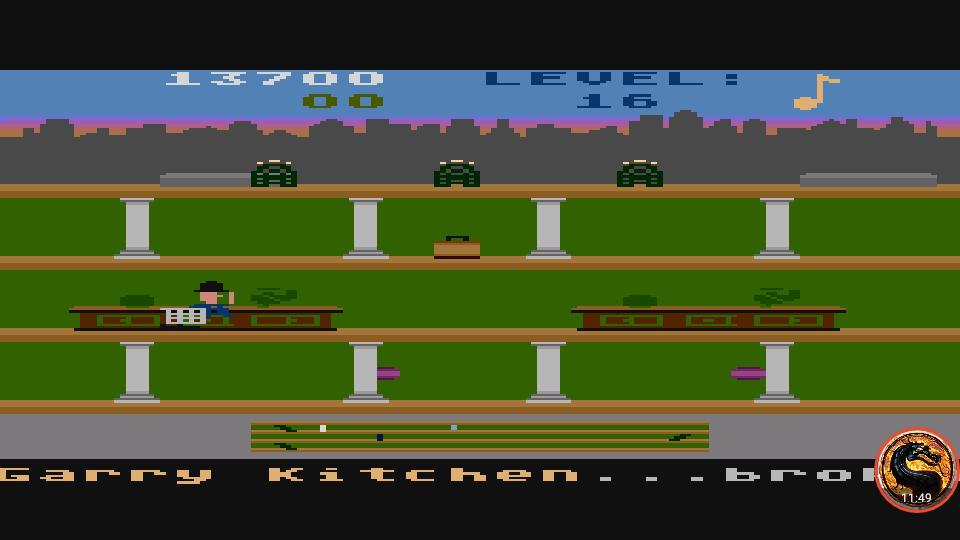 omargeddon: Keystone Kapers: Skill 15 (Atari 400/800/XL/XE Emulated) 13,700 points on 2019-04-07 13:58:18