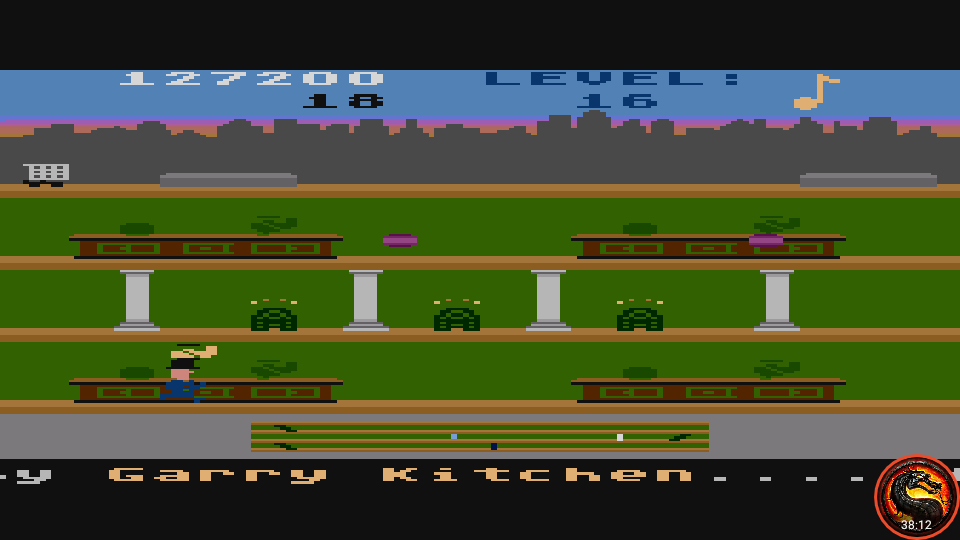 omargeddon: Keystone Kapers: Skill 2 (Atari 5200 Emulated) 127,200 points on 2020-06-30 21:02:56