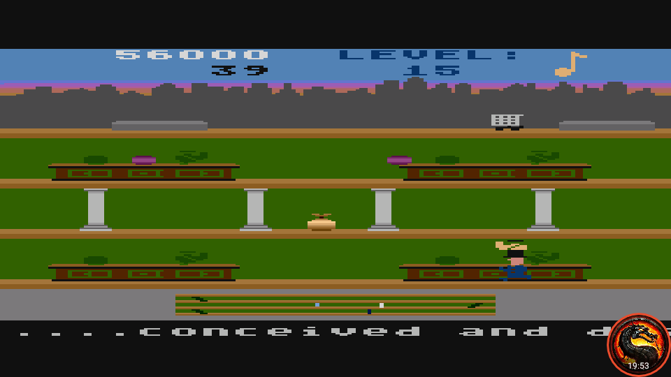 omargeddon: Keystone Kapers: Skill 3 (Atari 5200 Emulated) 56,000 points on 2020-03-16 23:36:20