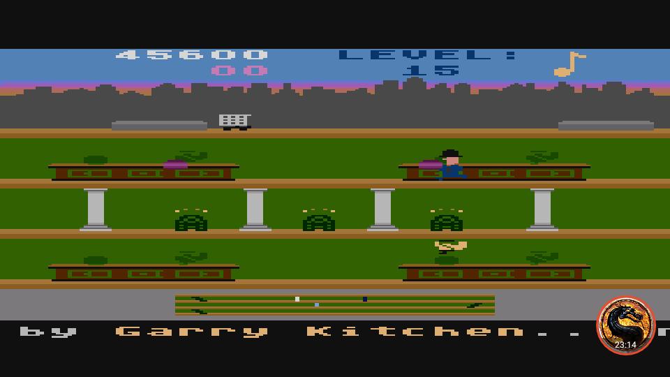 omargeddon: Keystone Kapers: Skill 4 (Atari 400/800/XL/XE Emulated) 45,600 points on 2019-05-12 07:31:26