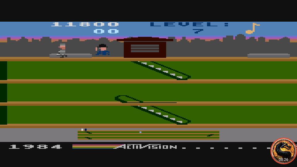omargeddon: Keystone Kapers: Skill 5 (Atari 400/800/XL/XE Emulated) 11,800 points on 2019-03-03 17:09:14