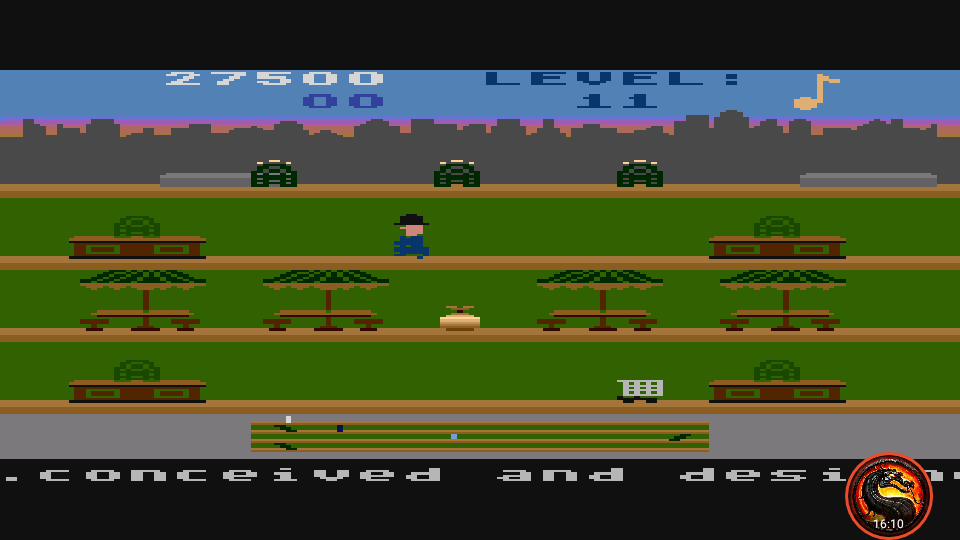 omargeddon: Keystone Kapers: Skill 5 (Atari 5200 Emulated) 27,500 points on 2020-10-11 22:59:35