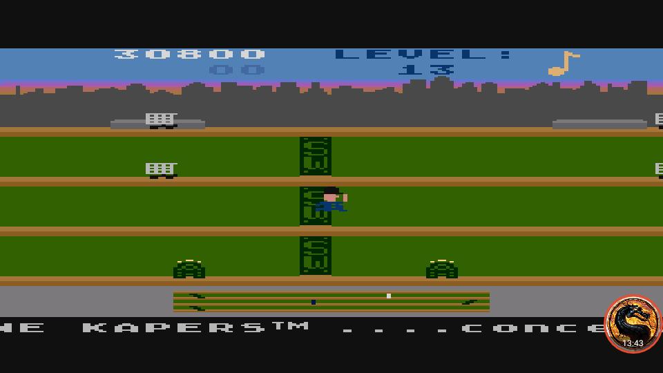 omargeddon: Keystone Kapers: Skill 7 (Atari 400/800/XL/XE Emulated) 30,800 points on 2019-03-03 17:10:50