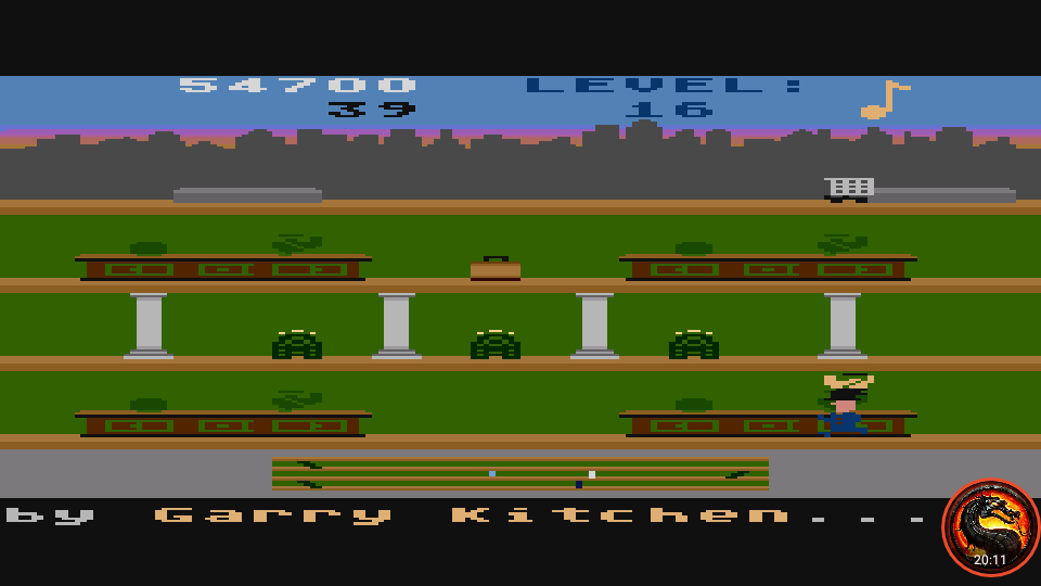 omargeddon: Keystone Kapers: Skill 7 (Atari 5200 Emulated) 54,700 points on 2020-03-17 00:50:20