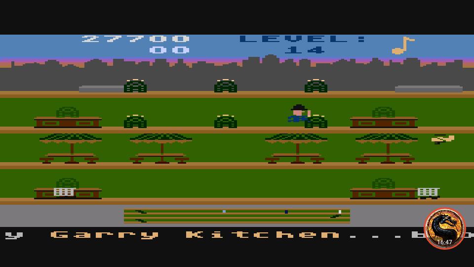 omargeddon: Keystone Kapers: Skill 8 (Atari 400/800/XL/XE Emulated) 27,700 points on 2019-03-06 15:36:46