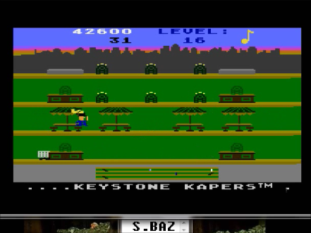 S.BAZ: Keystone Kapers: Skill 9 (Atari 5200 Emulated) 42,600 points on 2016-04-26 23:43:07