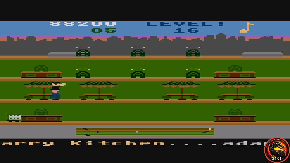 omargeddon: Keystone Kapers: Skill 9 (Atari 5200 Emulated) 88,200 points on 2020-06-06 19:44:18