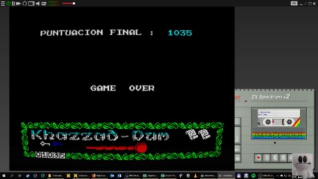 GTibel: Khazzad-Dum (ZX Spectrum Emulated) 1,035 points on 2019-01-22 11:14:45