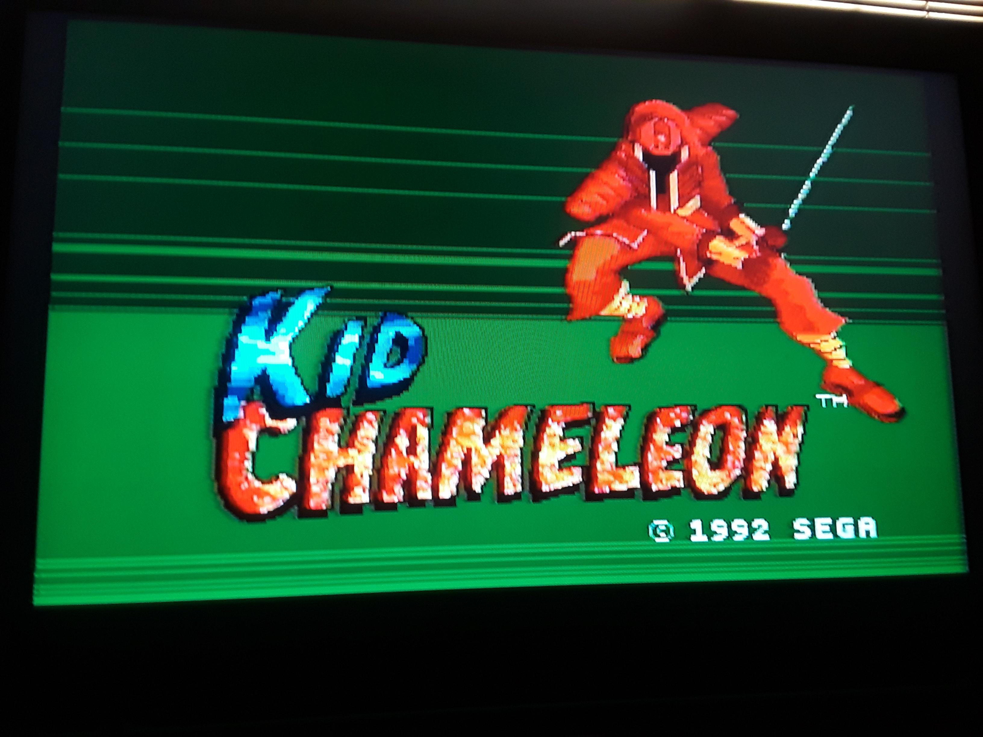 Kid Chameleon 4,450 points