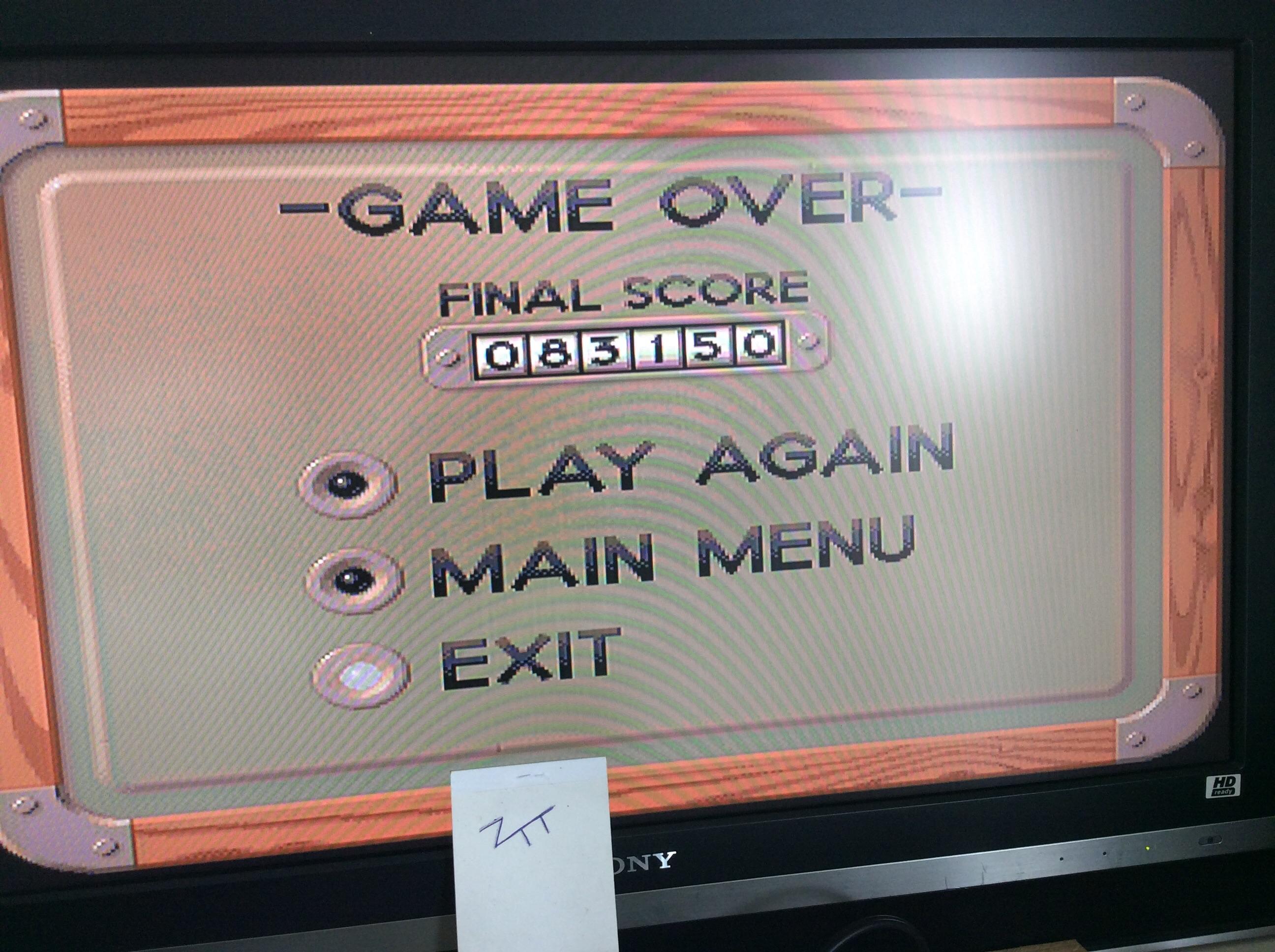 Frankie: Kid Chaos (Amiga) 83,150 points on 2016-08-14 03:52:37