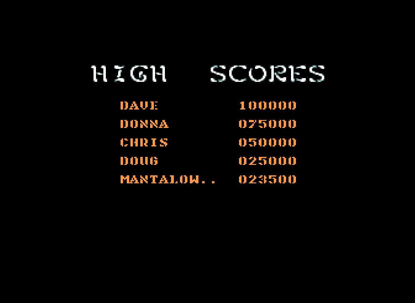 Mantalow: Kid Gloves 2 (Amiga Emulated) 23,500 points on 2016-07-21 10:24:00
