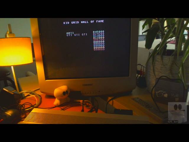 GTibel: Kid Grid (Commodore 64) 24,260 points on 2019-03-23 05:57:56