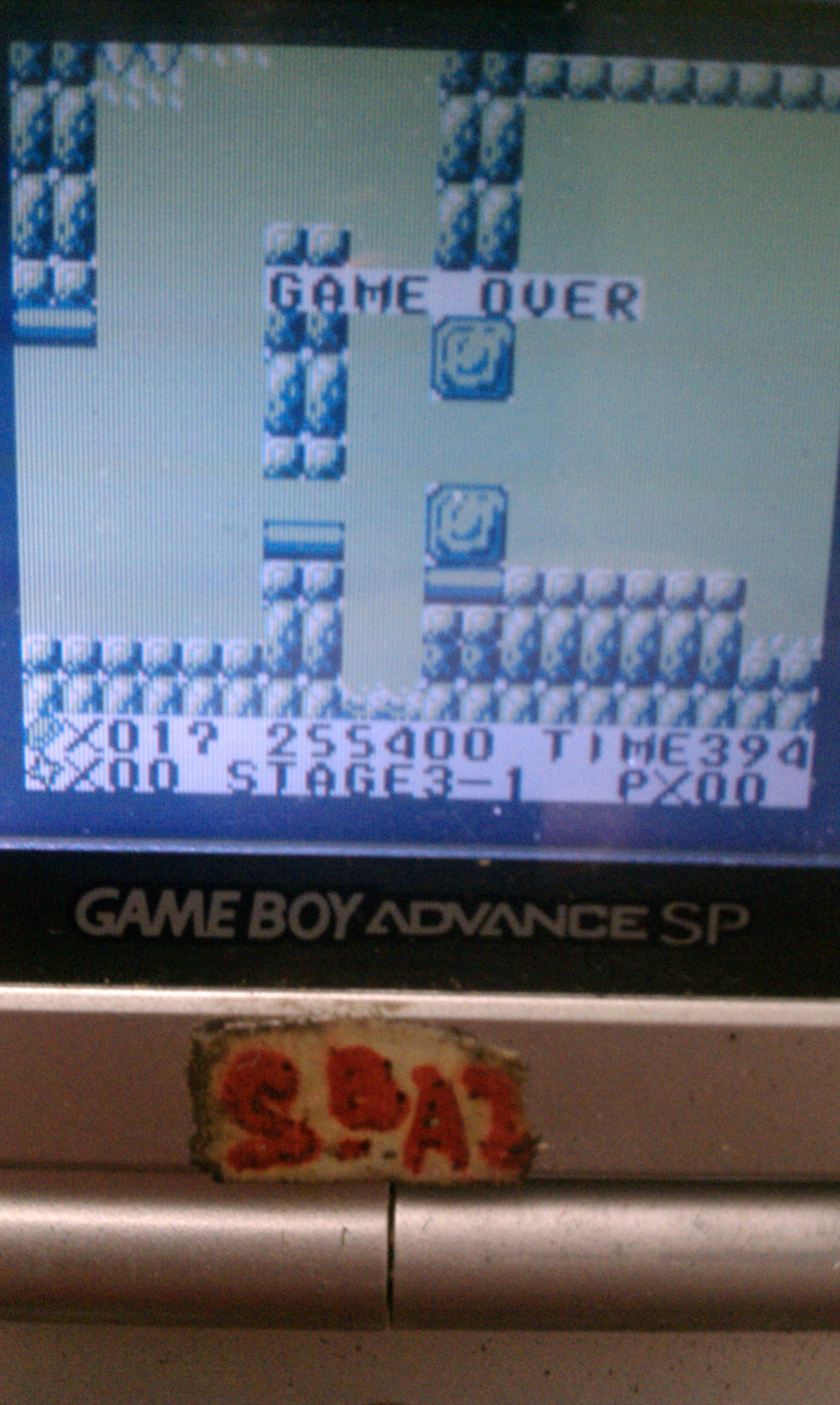 S.BAZ: Kid Niki (Game Boy) 255,400 points on 2020-03-28 08:15:01