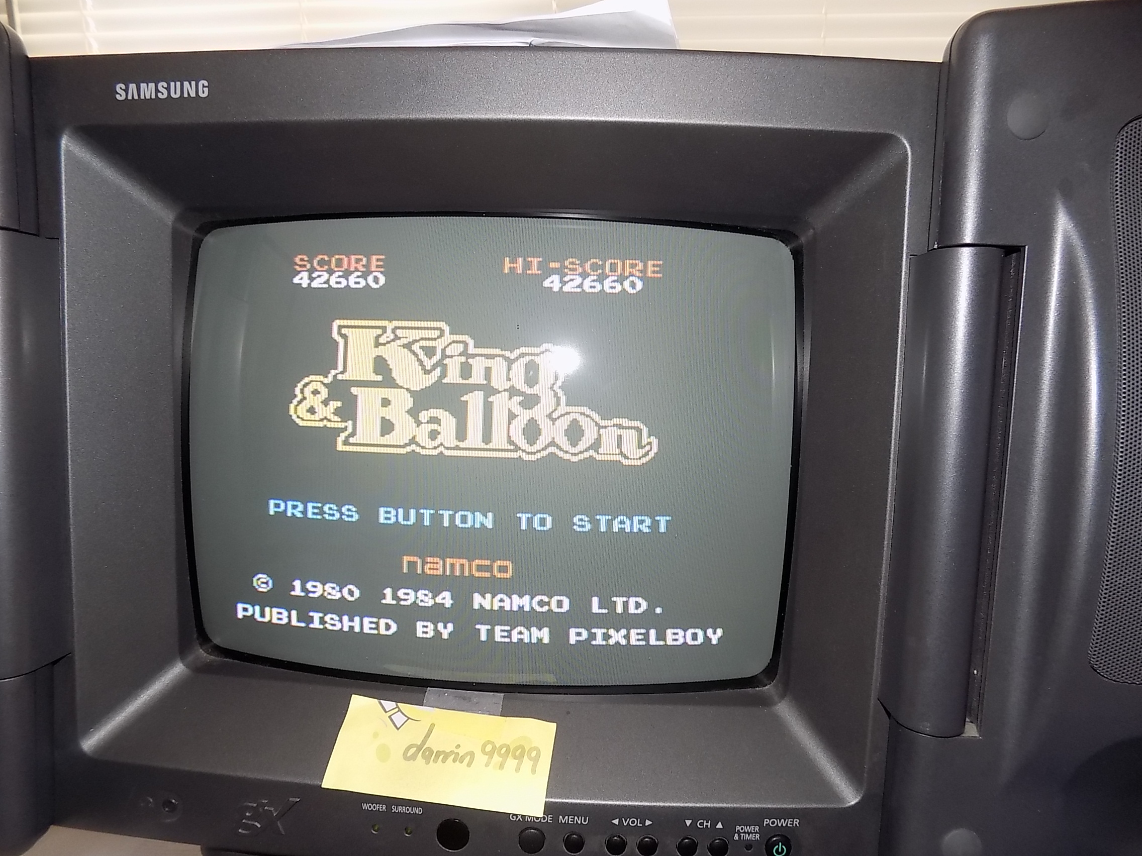 darrin9999: King & Balloon (Colecovision) 42,660 points on 2018-03-14 13:06:04
