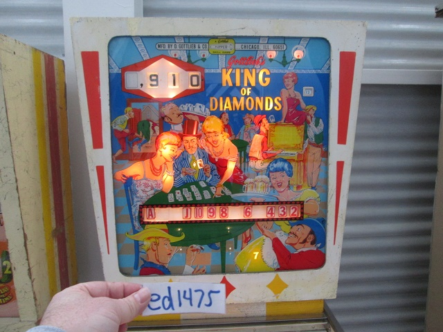 ed1475: King Of Diamonds (Pinball: 3 Balls) 910 points on 2017-01-15 16:29:31