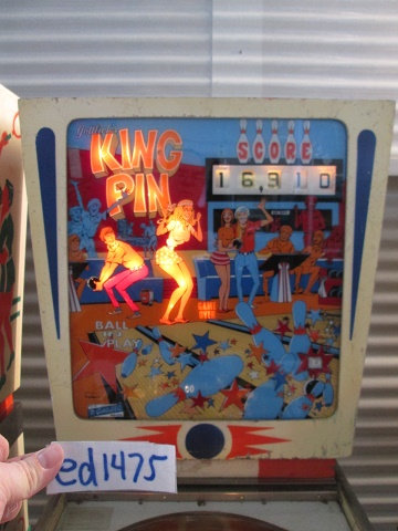 ed1475: King Pin [Gottlieb] (Pinball: 3 Balls) 16,910 points on 2017-02-12 15:54:33