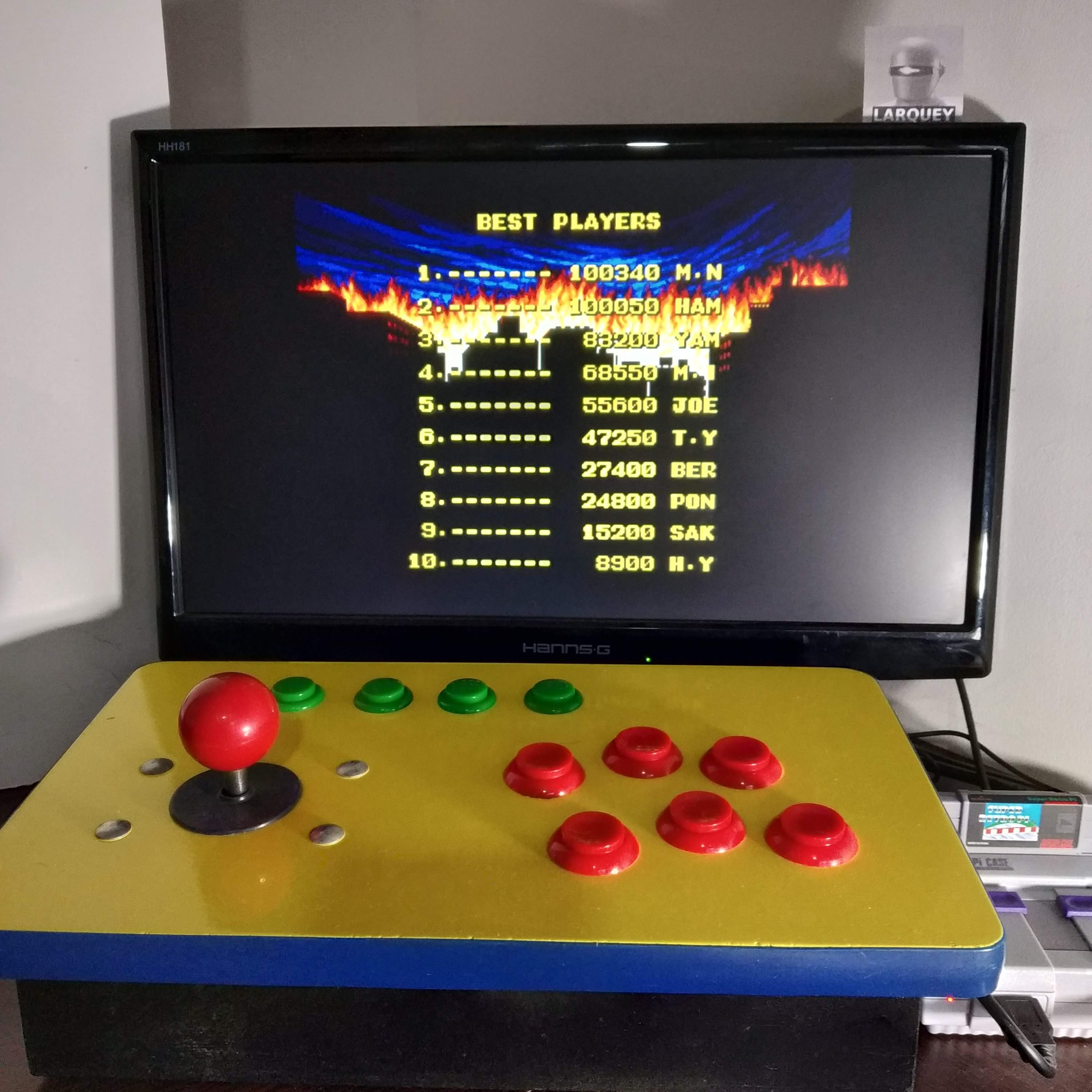 Larquey: King of the Monsters (Neo Geo Emulated) 27,400 points on 2020-07-11 03:03:43