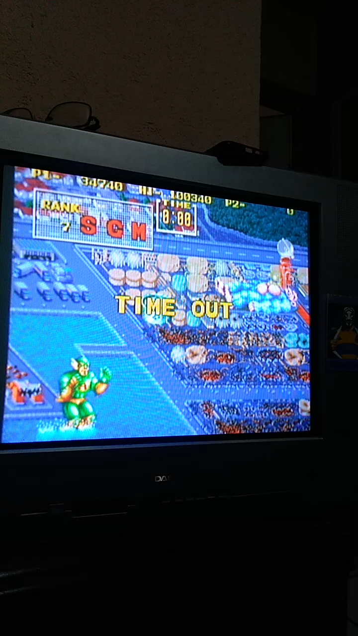 Sdrgio797: King of the Monsters (Neo Geo Emulated) 34,740 points on 2020-08-02 00:10:58