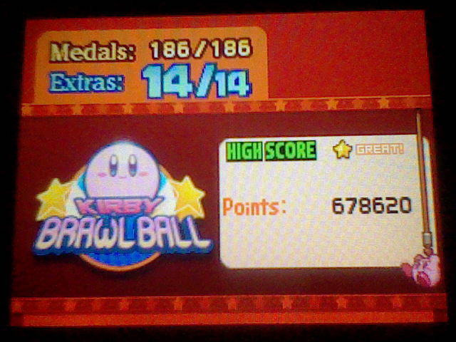DarkEonMaster: Kirby Mass Attack: Kirby Brawlball (Nintendo DS) 678,620 points on 2016-04-17 14:52:43